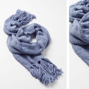 NWT Urban Outfitters Isla Knit Fringe Scarf